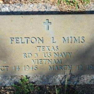 F. Mims (grave)