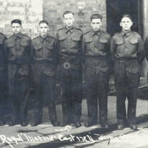 41 Commando (A Troop) group 6.6.1944