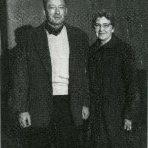 H. Redmond and his mother