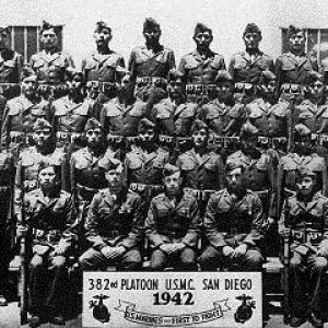 First 29 Code Talkers Graduation Photo 1942