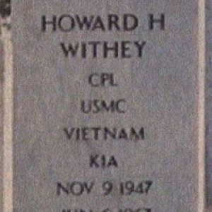 H. Withey (grave)