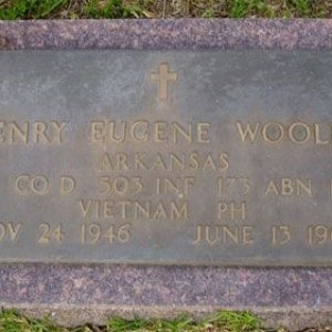 H. Wooley (grave)