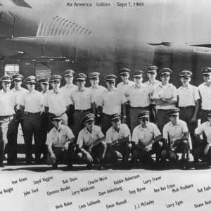 Air America aircrew 1967