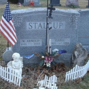 William A. Stalcup (grave)