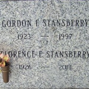 Gordon F. Stansberry (grave)