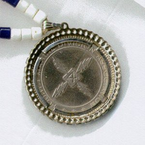 Code Talkers Silver Medallion (back face)