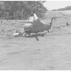 Air America UH-34s,Laos 1961