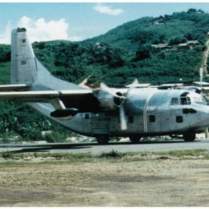 Air America C-123,Long Tieng 1970
