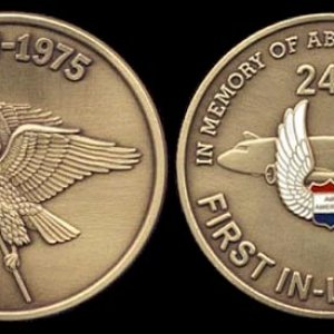 CAT/Air America Commemorative medallion