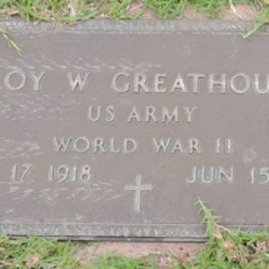 Roy W. Greathouse (grave)