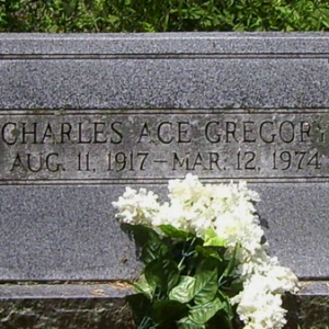 Charles A. Gregory (grave)