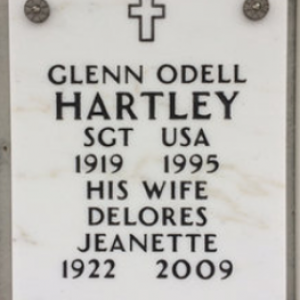 Glen O. Hartley (grave)