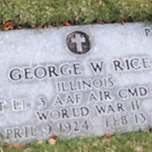 G. Rice (grave)
