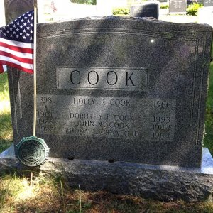 J. Cook (Grave)