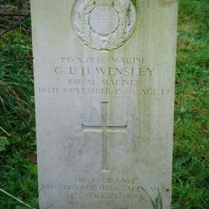 G. Wensley (Grave)