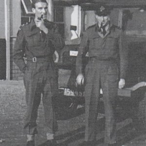 Peter Wild and Rollo Mangnall