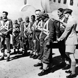 Indian paratroopers in WW2