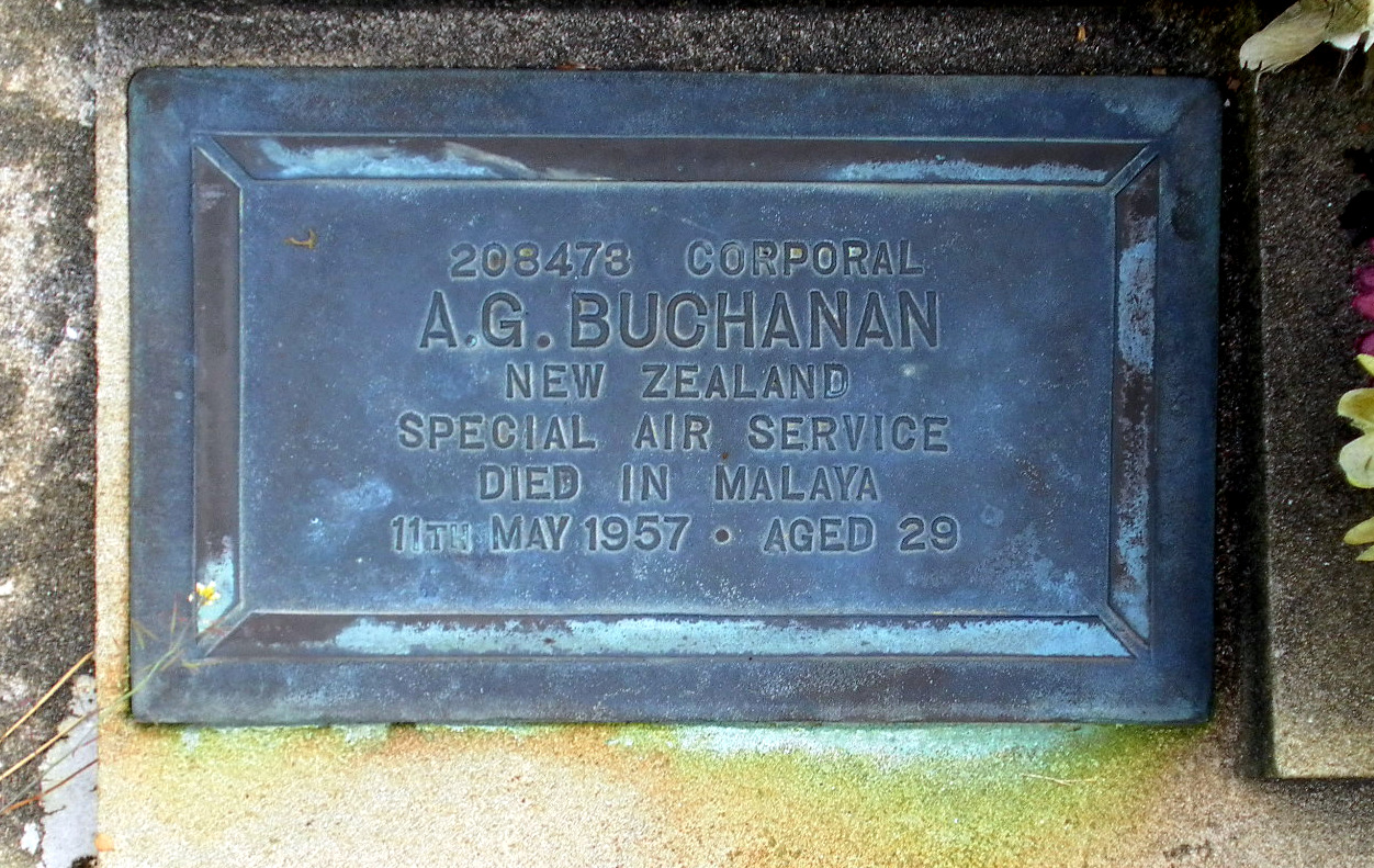A.G. Buchanan (NZ Grave)
