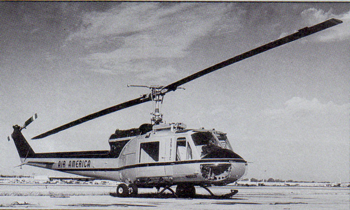 Air America Bell 204B helicopter