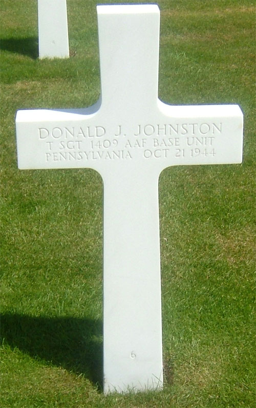 D. Johnston (grave)