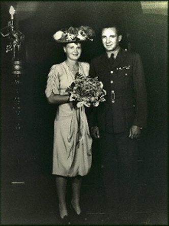 G. Faulkner (with wife Philippa)