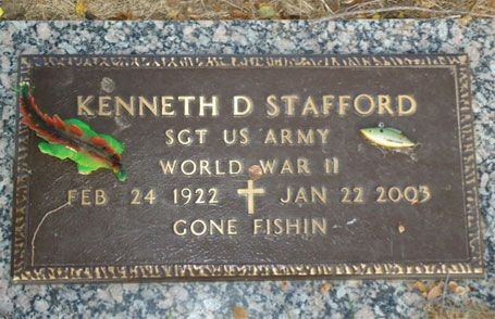 Kenneth D. Stafford (grave)